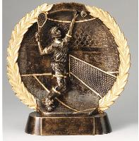 3D Wreath Male Tennis Award