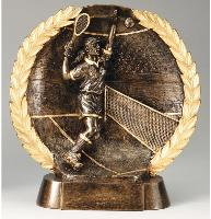 3D Wreath Female Tennis Award