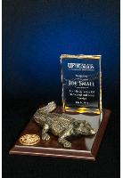8x10 Gator Plaque with Acrylic Tower