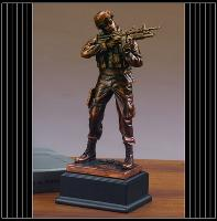Army Statue