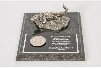 Pewter Gator on Base