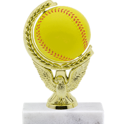 Softball - Spinning Squeeze Ball Trophy